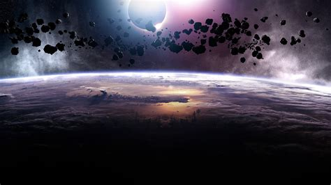 universe, Space, World, Meteors HD Wallpapers / Desktop ...