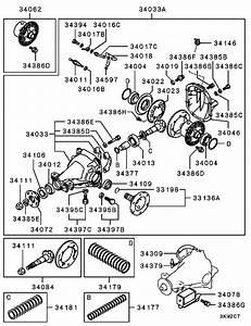 Rear Axle Differential For 2001