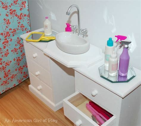 american doll bathroom sink love this diy american doll bathroom sink made out of