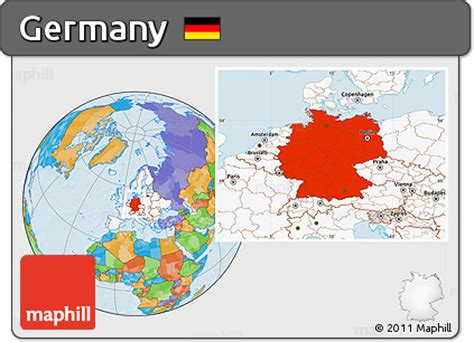 At the end of world war ii, the virtually destroyed berlin was divided into four sections: Germany on world map   Germany World Map Elegant where is Germany Located Location Map Of ...