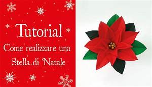 TUTORIAL Come realizzare una STELLA DI NATALE YouTube