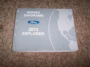 2013 Ford Explorer Electrical Wiring Diagram Manual Xlt