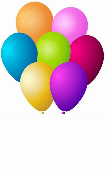 Balloons Bunch Clip Transparent Clipart Yopriceville Previous