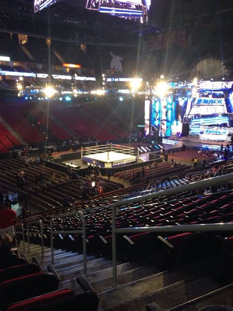 Toyota Center Houston Events by Section 111 Row 24 Seat 2 View For A Event View