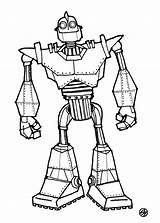 Giant Iron Coloring Pages Power Sketch Robot Rangers Drawing Sheet Boyama Printable Quest Sketches Dibujo Camelot sketch template