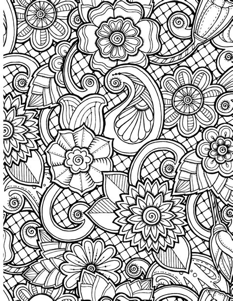 Take Time To Color The Flowers Coloring Book Live Your