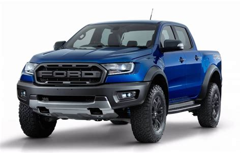 ford ranger 2018 ford ranger raptor unveiled gets 2 0tt with 10 spd