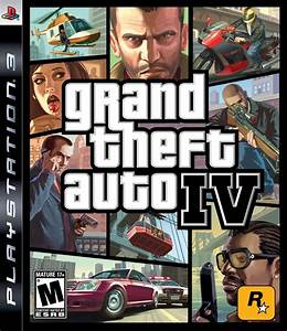Grand Theft Auto IV Playstation 3 Game