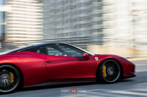 ferrari 458 wheels rosso fuoco opaco and bianco ferrari 458 italia duo with