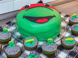 Coole Torten Zum Selber Machen : rezept f r ninja turtles muffins und einer ninja torte brotfrei ~ Frokenaadalensverden.com Haus und Dekorationen