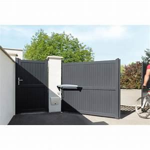 Moteur Portail Coulissant Pas Cher : portail coulissant pvc 4m ~ Edinachiropracticcenter.com Idées de Décoration
