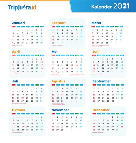 Untuk tahun 2021 indonesia (masehi) 1 januari dimulai dari 17 jumadil awal yang merupakan bulan kelima dalam kalender jawa tahun 1955. Kalendar 2021