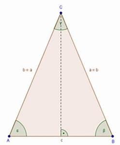 Gleichschenkliges Dreieck C Berechnen : gleichschenkeliges dreieck ~ Themetempest.com Abrechnung