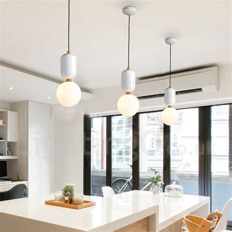 led modern contemporary dining room bedroom pendant light