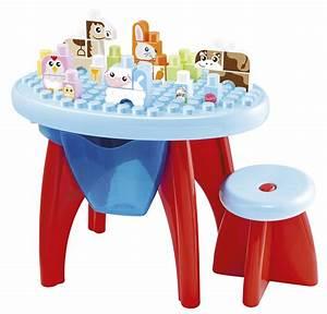 Table Eveil Bebe : table d 39 veil animaux ecoiffier superbaby ~ Teatrodelosmanantiales.com Idées de Décoration