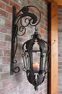 Laterne Kerze Draußen : wandlaterne terrasse garten au en laterne h ngen shabby ~ Watch28wear.com Haus und Dekorationen