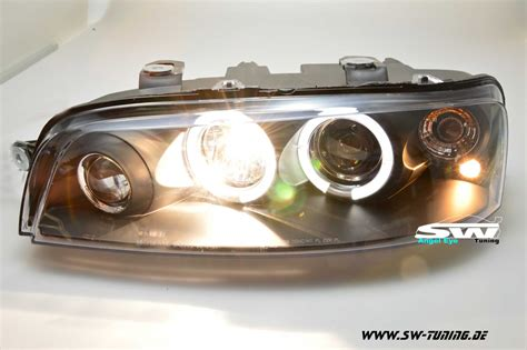 Fiat Headlights by Eye Headlights Fiat Punto Type 188 99 02 2 Halo Rims