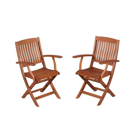 hton bay adelaide eucalyptus patio dining arm chairs 2
