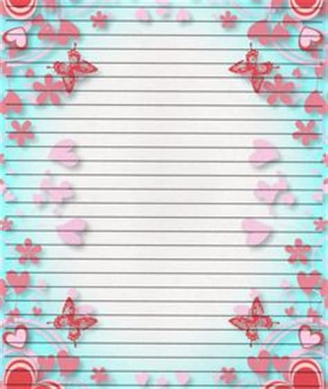 printable letter writing papers images letter