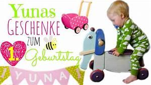 Baby Mit 1 Jahr : geschenke zum 1 geburtstag yuna wird 1 rutschtier puppenwagen b cher youtube ~ Markanthonyermac.com Haus und Dekorationen