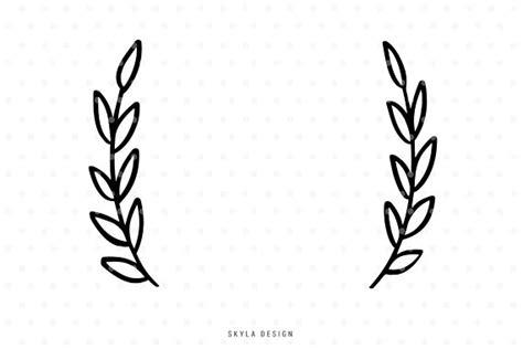Leaves Svg Flourish Svg Wreath Svg Cut File Svg Clip Art