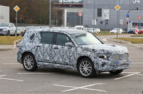 Worth waiting to see our review of how the car drives in the uk. 2019 Mercedes GLB: 'road-biased' G-Class sibling caught under wraps | Autocar