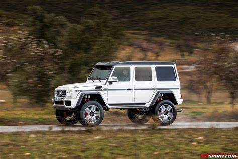 Exclusive Mercedes-benz G500 4x4² Review Off-road With
