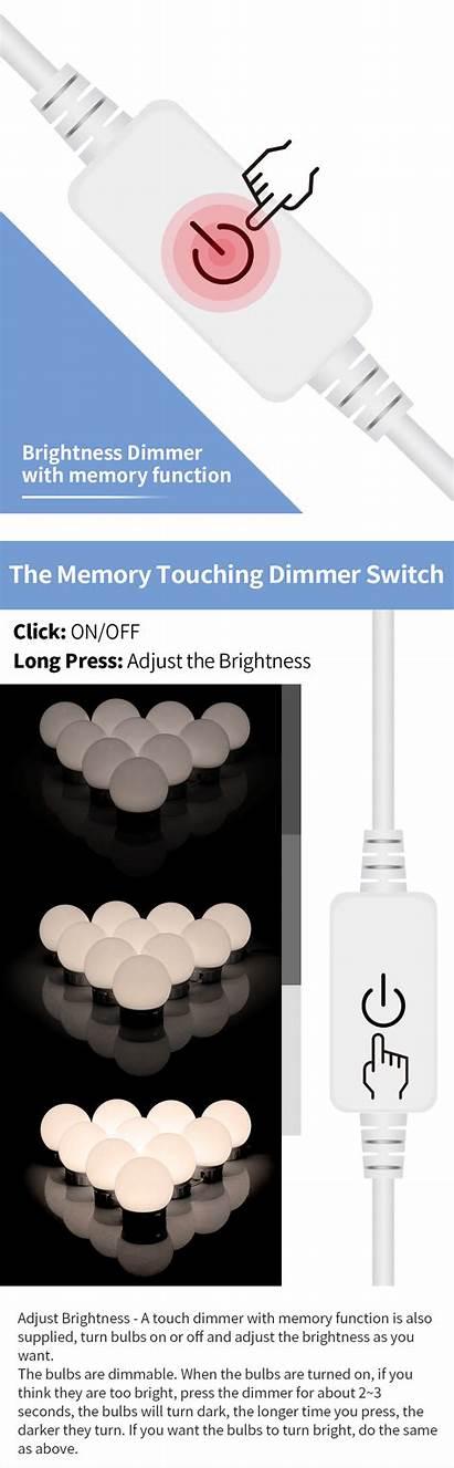 Mirror Lights Led Vanity Bulbs