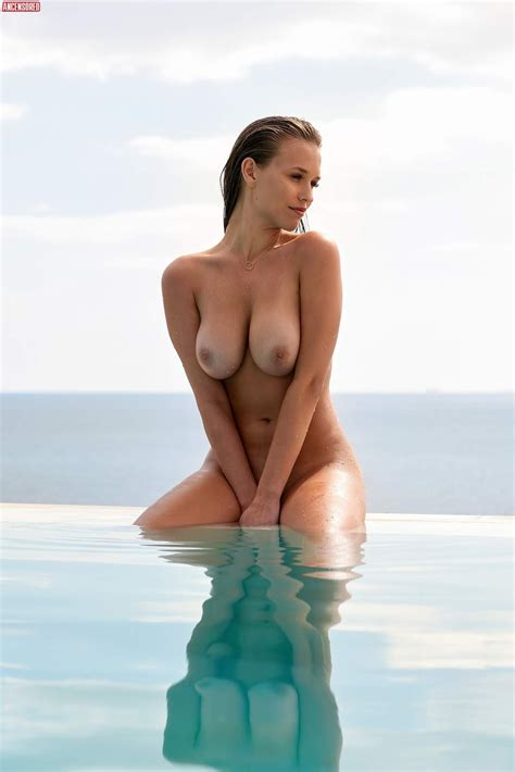 Naked Laura Müller in Playboy Magazine Germany