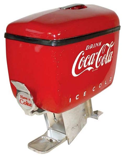 Nasa put that dispenser up with one mission, and the astronauts all experienced pretty bad stomach problems from the carbonation. 825: Coca-Cola countertop fountain dispenser, c.1950's