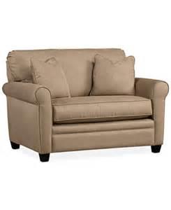 kaleigh fabric twin sleeper chair bed furniture macy s