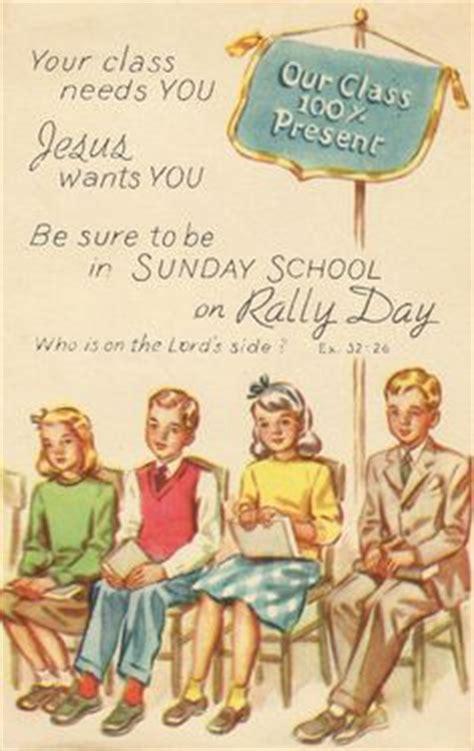 sunday school invitation postcards sunday school