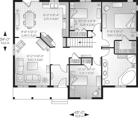best one floor plans best 1 house plans
