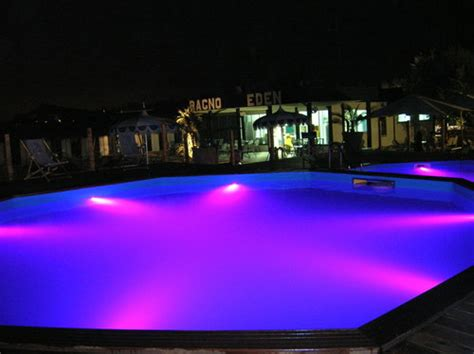 led lighting for swimming pools in auroville