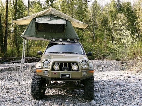 jeep renegade tent arb simpson ii roof tent for libertys jeep liberty forum