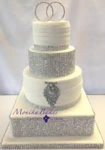 bling wedding cake toppers monika bakes custom cakes portfolio weddings 3d cakes
