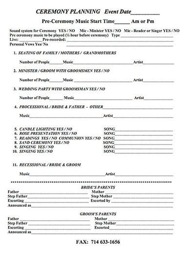 wedding checklist pdf weddings wedding entertainment corporate entertainment casino orange county