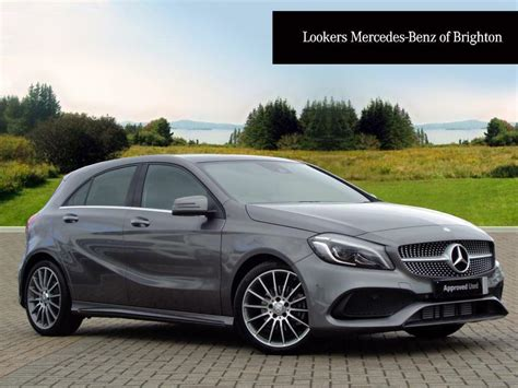 Buy a new car online. Mercedes-Benz A Class A 180 D AMG LINE PREMIUM PLUS (grey) 2016-09-07 | in Portslade, East ...