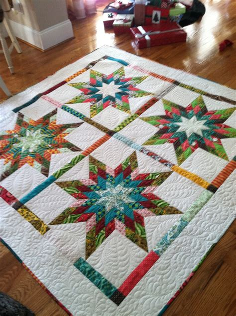 Star Jelly Roll Quilt