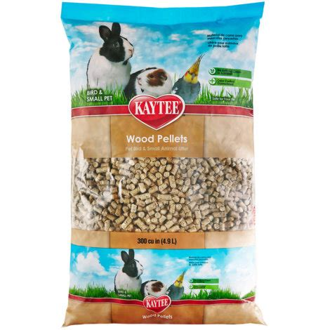 kaytee  lb wood pellet small animal avian bedding