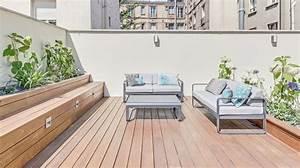 Aménagement Terrasse Appartement : amenagement terrasse en bois artdevivre edu ~ Melissatoandfro.com Idées de Décoration