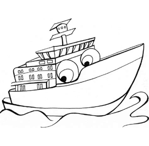 Ferry Boat Drawing Easy by Printable Ferry Coloring Pages Transportation Drawings