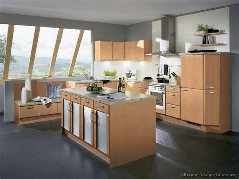grey flooring kitchen wood cabinets http www