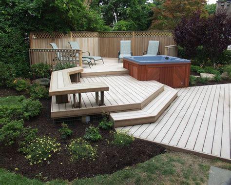 deck tub backyard upgrades