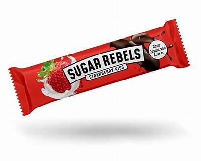 Strawberry Kiss Rebels Sugar Riegel 35g Versandkosten