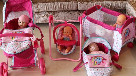 pony baby doll nursery centre playpen highchair