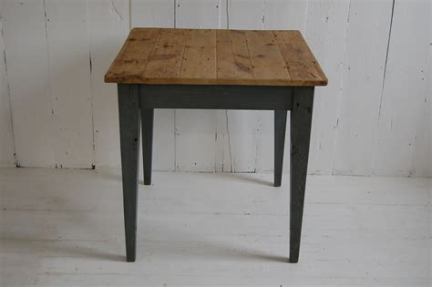 square wooden table small kitchen table   yorkshire