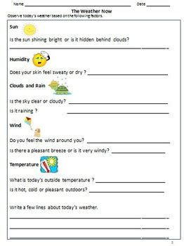 weather worksheets activities bookmarks for grade 3 4 by rituparna reddi