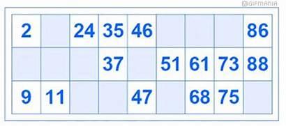 Bingo Card Animated Gifs Objects Gifmania