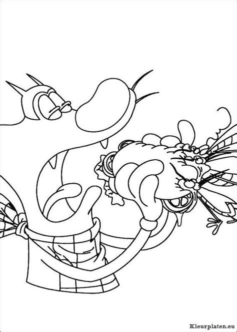 Oggy En De Kakkerlakken Kleurplaat by Oggy En De Kakkerlakken Kleurplaat 992106 Kleurplaat
